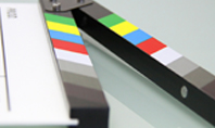 Film Making Clapperboard Closeup Presentation Presentation Template