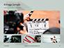 Film Making Clapperboard Closeup Presentation slide 13