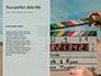 Film Making Clapperboard Closeup Presentation slide 9