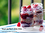 Overnight Oats with Raspberries in Jars Presentation slide 1