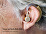 Elderly Person with Hearing Aids Presentation slide 1