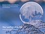 A Frozen Soap Bubble on a Branch Presentation slide 1