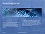 A Frozen Soap Bubble on a Branch Presentation slide 14