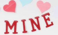 Be Mine Valentines Card Presentation Presentation Template