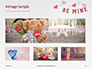 Be Mine Valentines Card Presentation slide 13