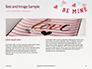 Be Mine Valentines Card Presentation slide 14