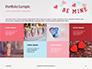 Be Mine Valentines Card Presentation slide 17