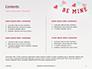 Be Mine Valentines Card Presentation slide 2