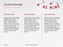 Be Mine Valentines Card Presentation slide 6