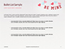 Be Mine Valentines Card Presentation slide 7