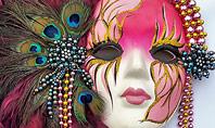 Mardi Gras Masquerade Mask Presentation Presentation Template