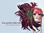 Mardi Gras Masquerade Mask Presentation slide 1