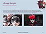 Mardi Gras Masquerade Mask Presentation slide 11