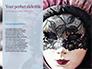 Mardi Gras Masquerade Mask Presentation slide 9