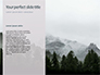 Snow Covered Mountains and Trees Presentation slide 9