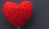 Big Red Heart Presentation Presentation Template