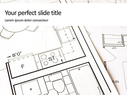 Apartment Plan Presentation Presentation Template, Master Slide