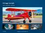 Vintage Airplane Presentation slide 13