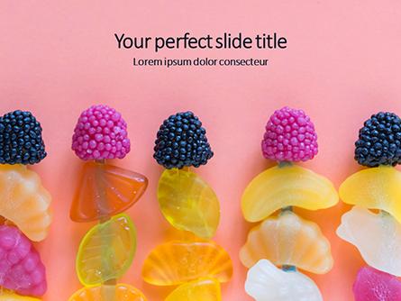 Jelly Candies Presentation Presentation Template, Master Slide