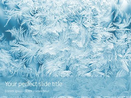 Magical Frost Ornaments Presentation Presentation Template, Master Slide