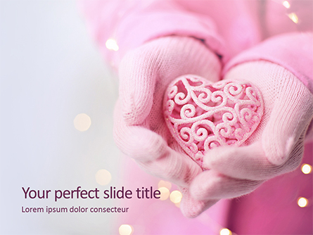 Valentine's Day Card Presentation Presentation Template, Master Slide