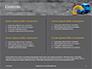 Toy Backhoe on the Sand Presentation slide 2