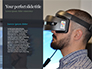 Man Uses a Virtual Reality Headset in the Forest Presentation slide 9