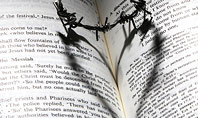 Crown of Thorns on Bible Presentation Presentation Template