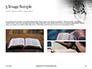 Crown of Thorns on Bible Presentation slide 12