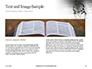 Crown of Thorns on Bible Presentation slide 14