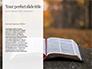 Crown of Thorns on Bible Presentation slide 9