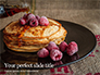 Pancakes Raspberry Presentation slide 1