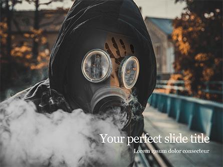 Chemical Pollution Concept Presentation Presentation Template, Master Slide