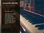 Yellow Rose on Piano Keys Presentation slide 9
