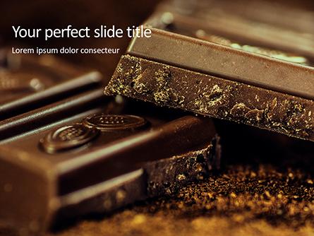 Dark Chocolate Presentation Presentation Template, Master Slide