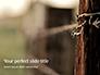 Barbed Wire Fence Presentation slide 1