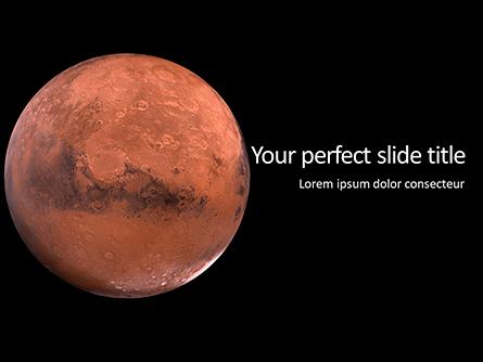 Mars Presentation Presentation Template, Master Slide
