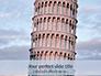 Leaning Tower of Pisa Presentation slide 1