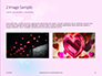 Background with Minimalistic Pastel Pattern Valentine's Day Theme Presentation slide 11