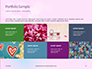 Background with Minimalistic Pastel Pattern Valentine's Day Theme Presentation slide 17