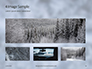 Beautiful Snowy Winter Forest Presentation slide 13