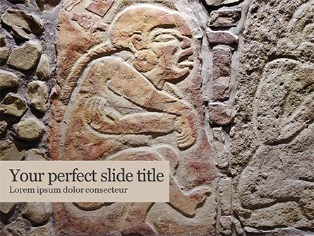 Old Mexican Relief  Presentation Presentation Template, Master Slide