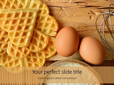 True Belgian Waffles Presentation Presentation Template, Master Slide