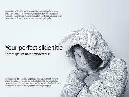 Depressed Mental State Presentation Presentation Template, Master Slide