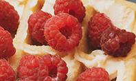 Waffles with Raspberries Presentation Presentation Template