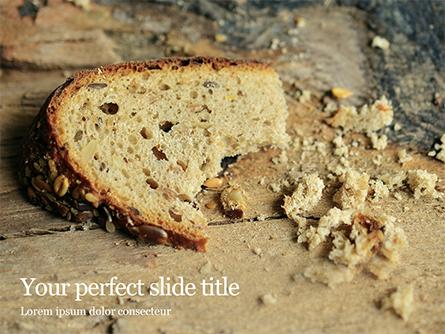 Grain Bread Presentation Presentation Template, Master Slide