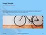 Closeup Mountain Bike Wheel Presentation slide 10
