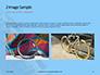 Closeup Mountain Bike Wheel Presentation slide 11