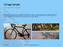 Closeup Mountain Bike Wheel Presentation slide 12