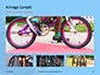 Closeup Mountain Bike Wheel Presentation slide 13